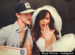 Naya Rivera Dressed Up As A Mail-Order Bride For Halloween