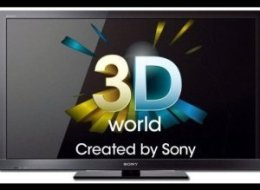 3D Bravia Sony Television Named To Oprah's Favorite Things 2010