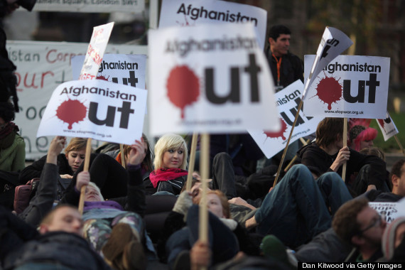 stop the war protest uk afghanistan
