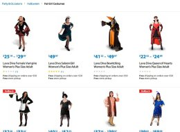 Yes, Walmart's Website Seriously Had A 'Fat Girl Costumes' Section