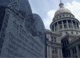Texas Bill Ten Commandments Schools