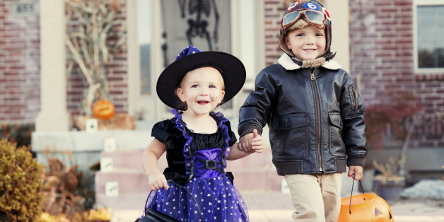 Yes, I Take My Poor Children Trick-or-Treating in Your