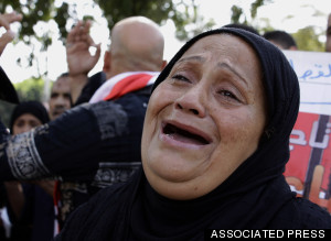 egypt sinai funeral 2014