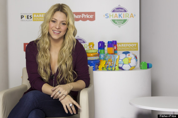 shakira fisher price