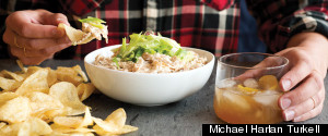 SHALLOT CREAM CHEESE DIP