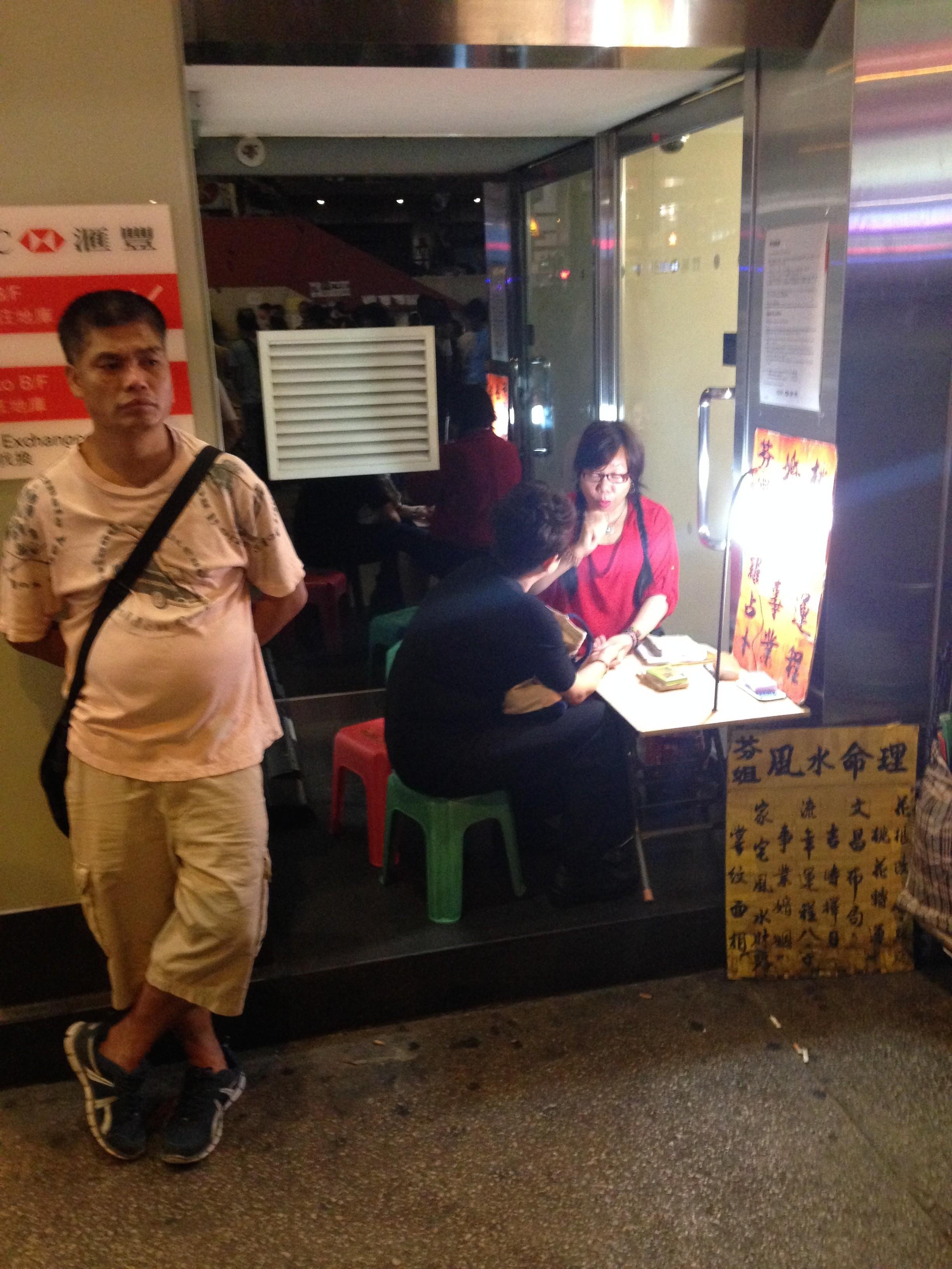mong kok barricades october 24