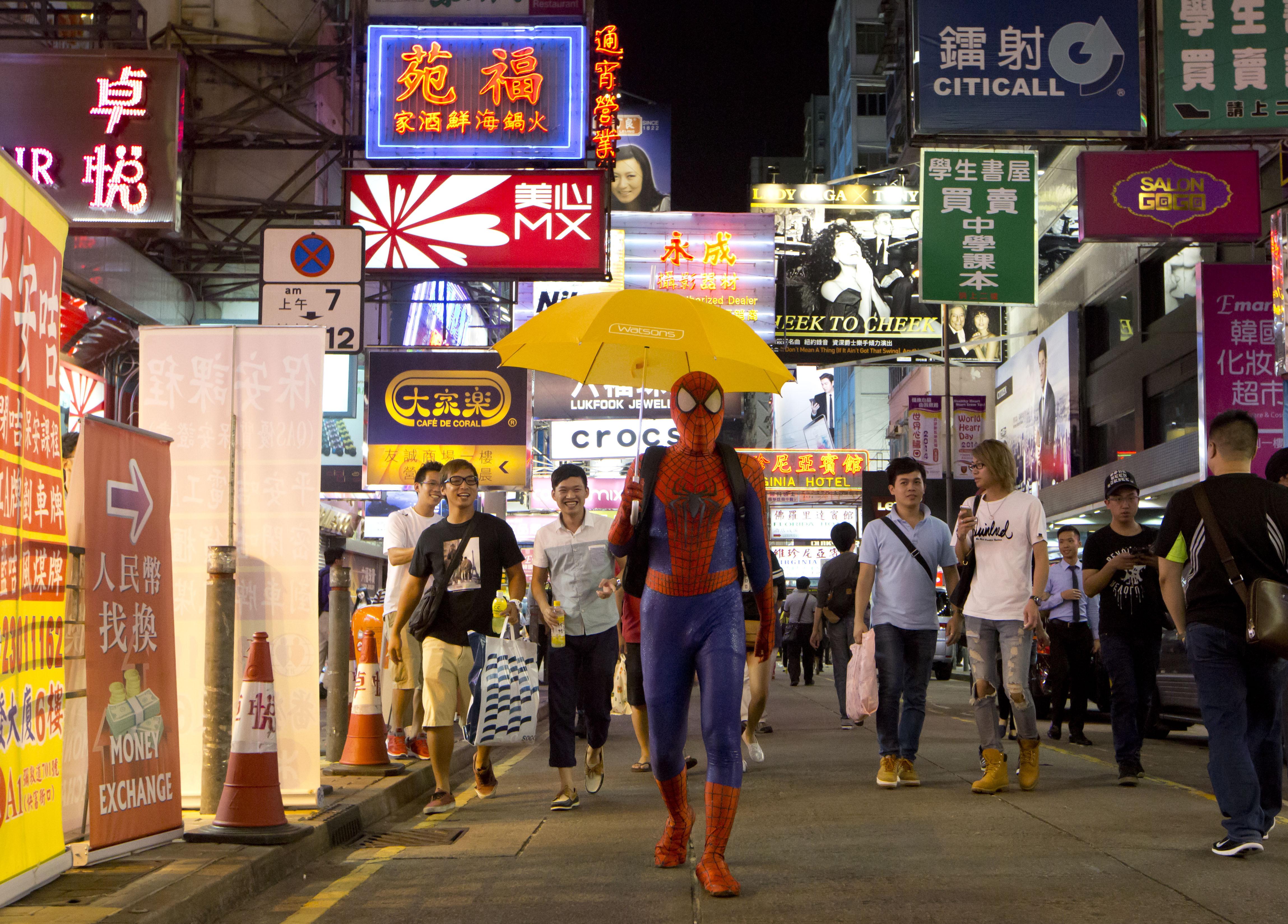 spider man mong kok