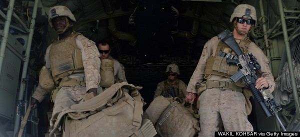 U.S. Marines Leave Afghanistan After Tough War Years