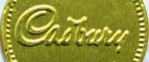 CADBURY COIN