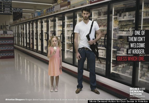 Majority of Shoppers Want Kroger to Ban Guns