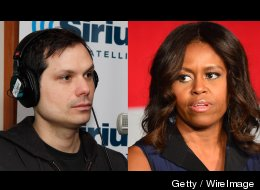 Apparently Michael Ian Black And FLOTUS Have Some Beef