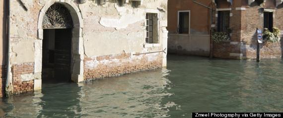 flood waters door