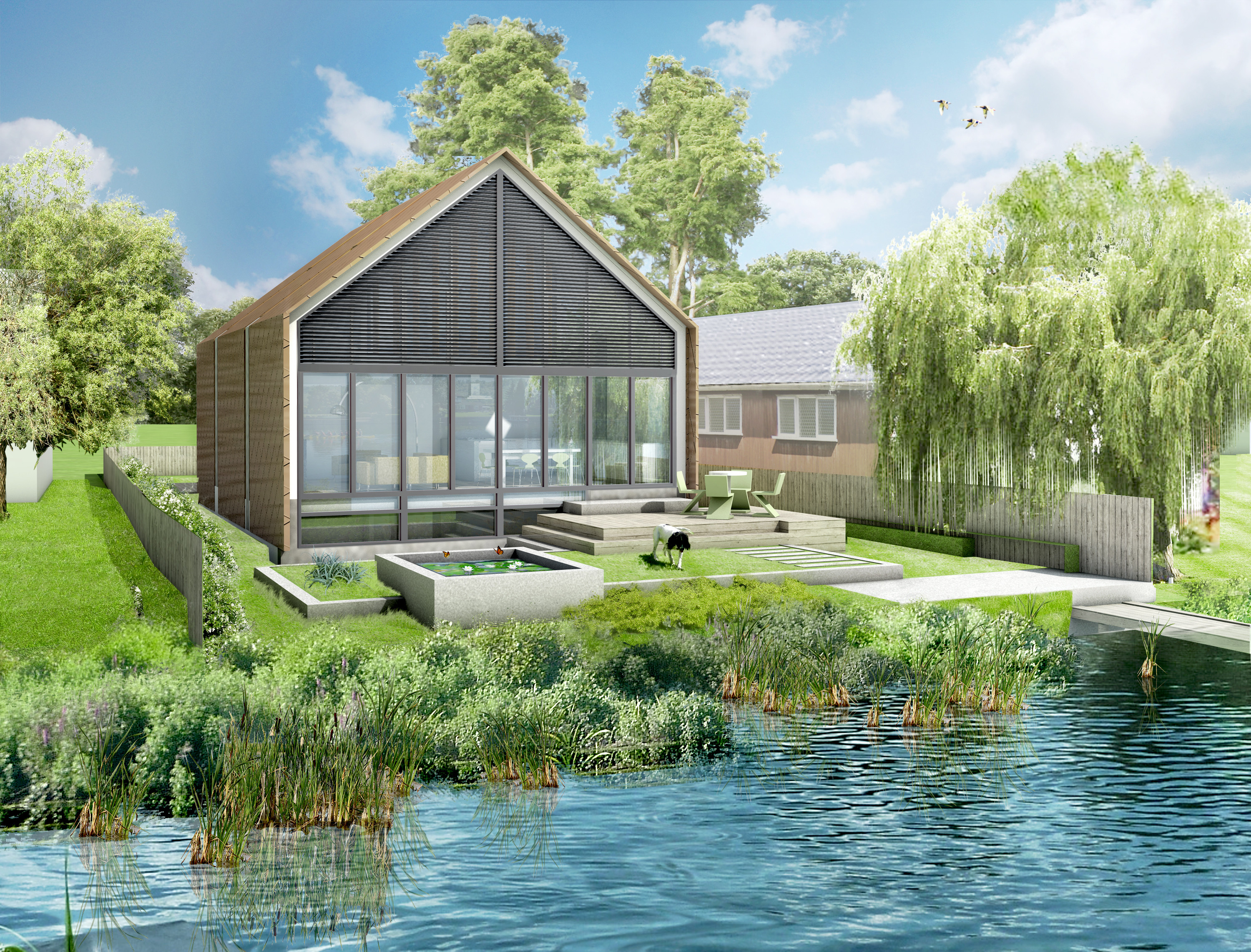 Floating homes and the future apparently are here huffpost - Floating prefabricated home ...
