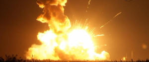 WALLOPS ISLAND NASA EXPLOSION