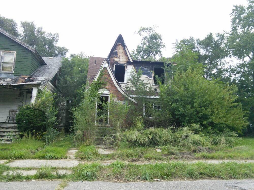 Detroit Abandoned Neighborhoods Map