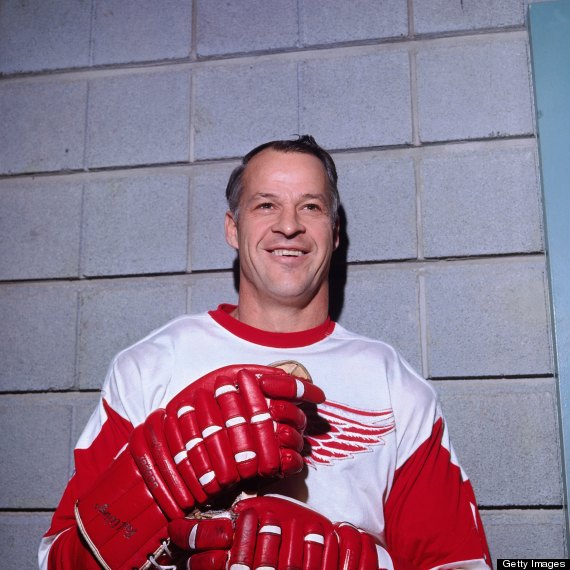 gordie howe red wings