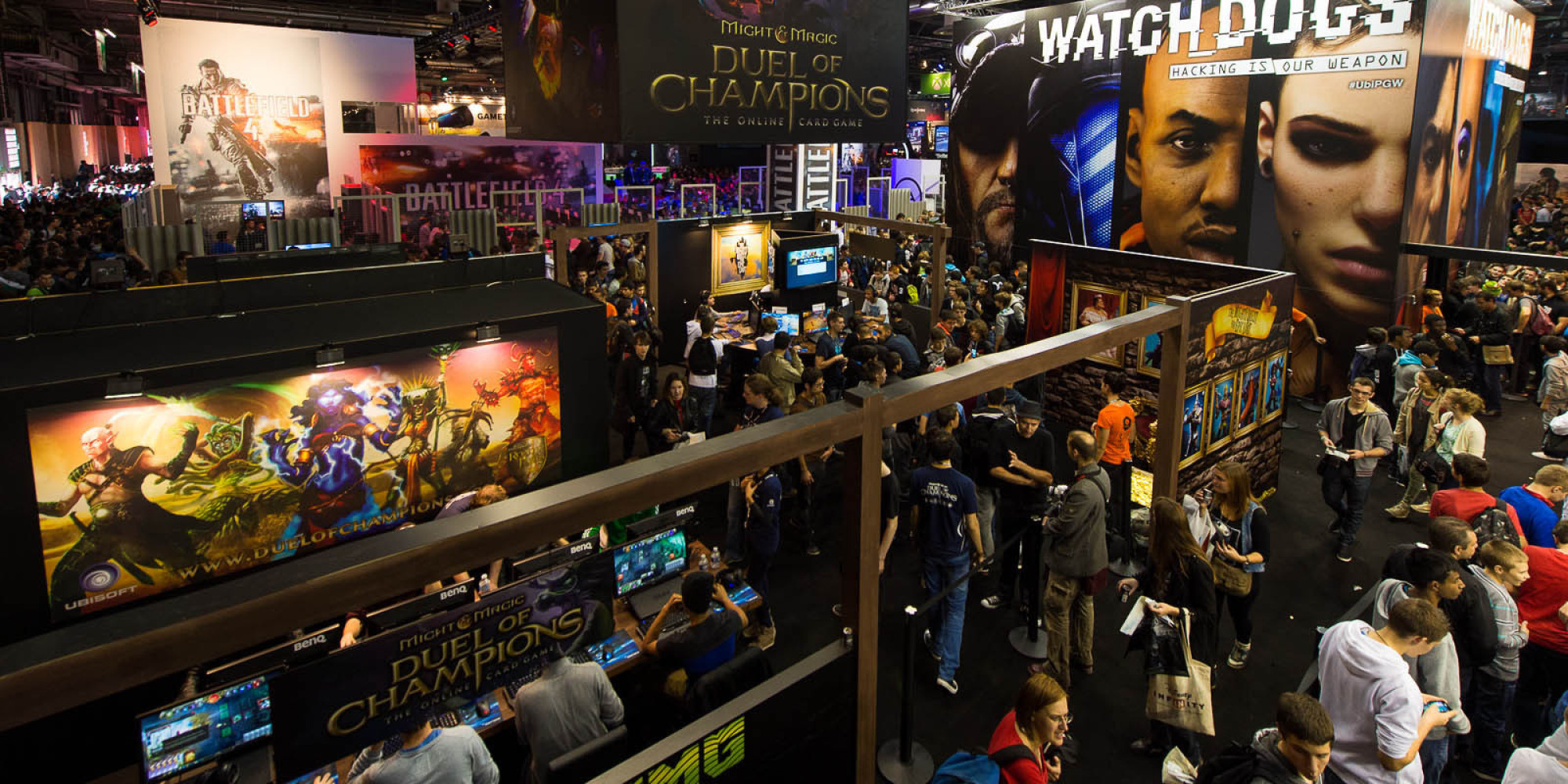 Paris games week comment le salon fran ais du jeu vid o for Salon a paris ce weekend