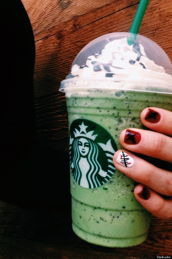 starbucks halloween drinks starbucks new limited edition franken frappuccino is 30656