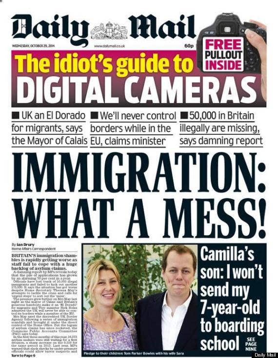 daily mail immigration