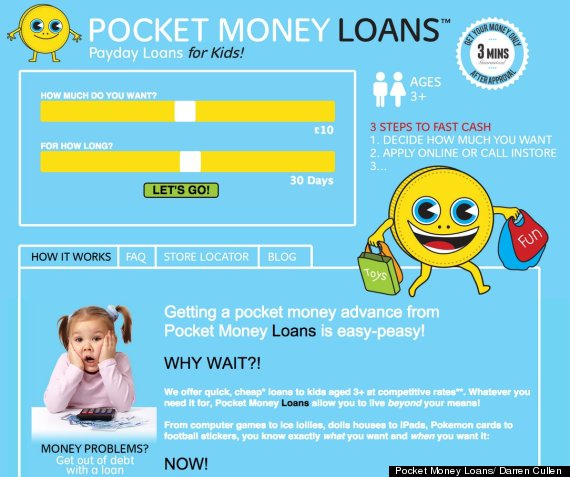 ... Loans For Kids Lampoons Vile Culture Of Payday Loans - HuffPost UK