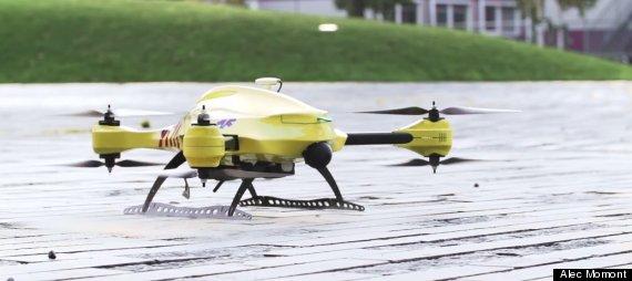 ambulance drone