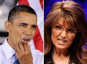 Palin v Obama