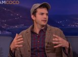 Watch Ashton Kutcher Repeatedly Say Something Mila Kunis Thinks No Dad Should