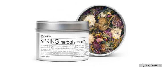 fig yarrow spring herbal steam