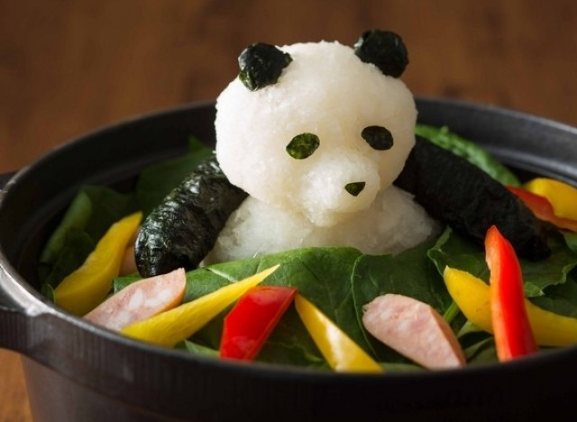 Photos les sculptures de plats base de radis imagin es - Cuisiner chez soi et vendre ses plats ...