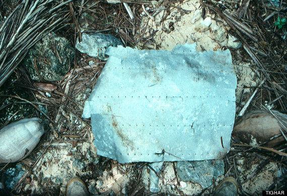 amelia earhart plane fragment