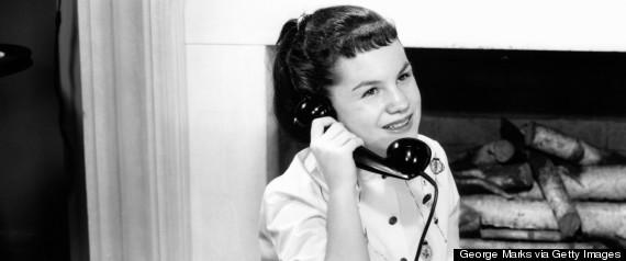 retro teen telephone