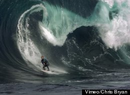 Surfing In Slow Motion Shows Just How 'Heavy' A Wave Can Be
