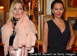 Kate Moss 'Flips The Bird'... At Mel B!
