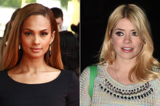 Alesha Dixon and Holly Willoughby | Pics: Getty Images