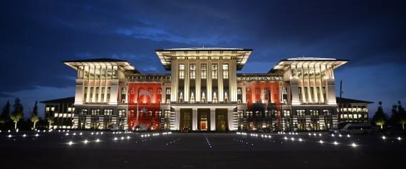 prezidentsky palac turecko