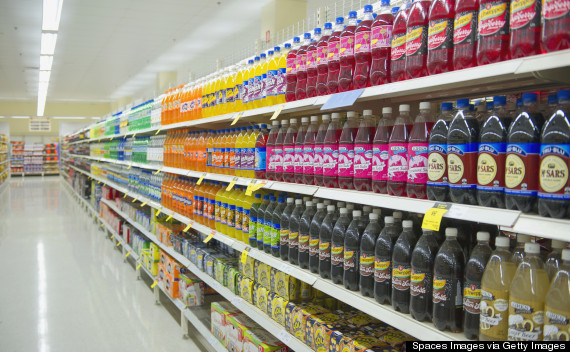 soda aisle grocery store