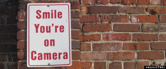 smile youre on camera
