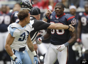 Andre Johnson Cortland Finnegan Fight Video