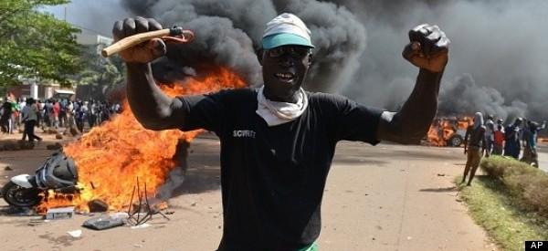 Protesters Storm Parliament In Burkina Faso
