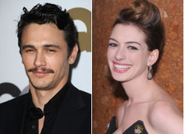 Oscar Hosts James Franco Anne Hathaway
