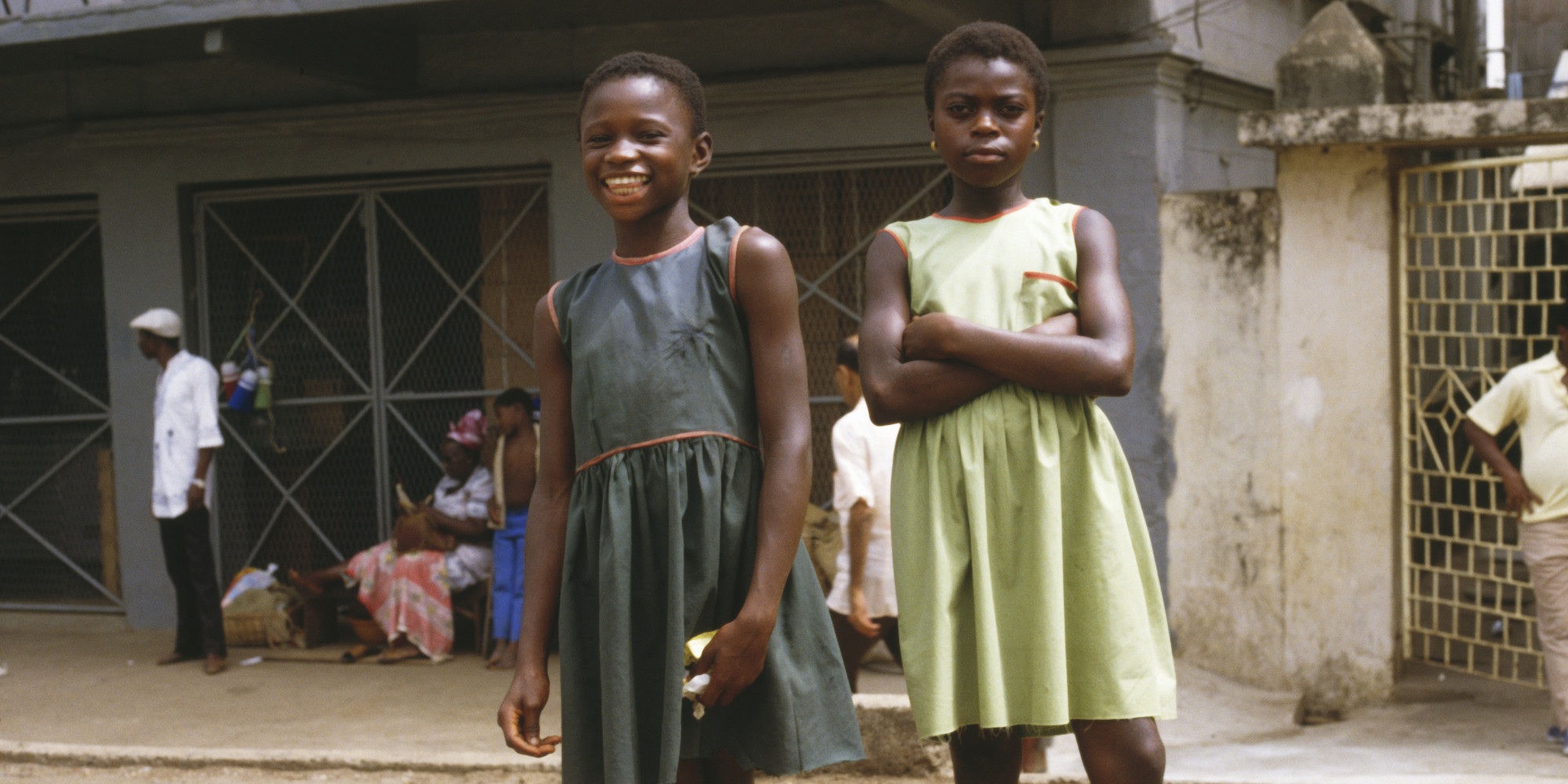 Girls On Ebola Front-Lines
