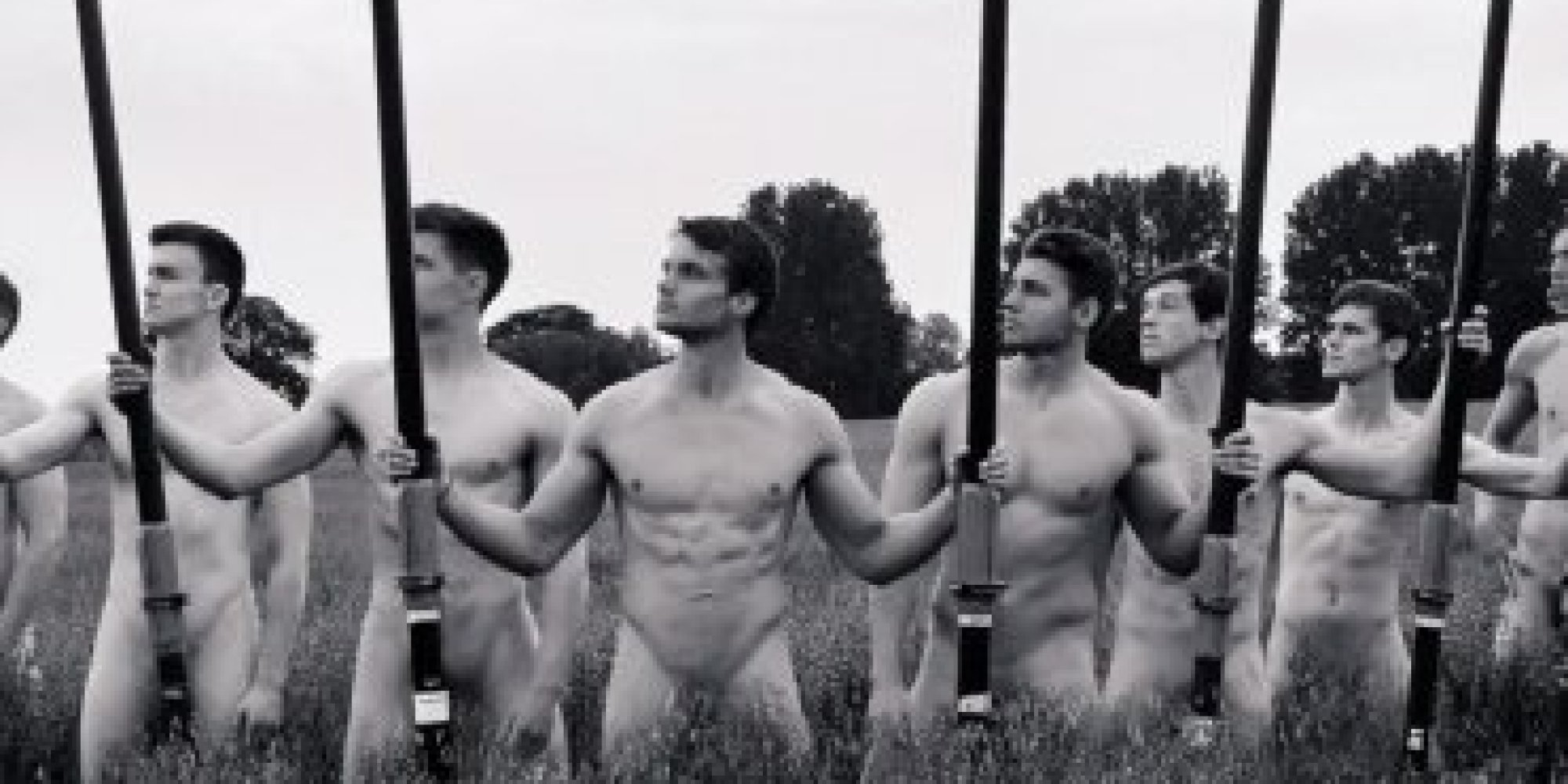 Naked Warwick Men S Rowing Team