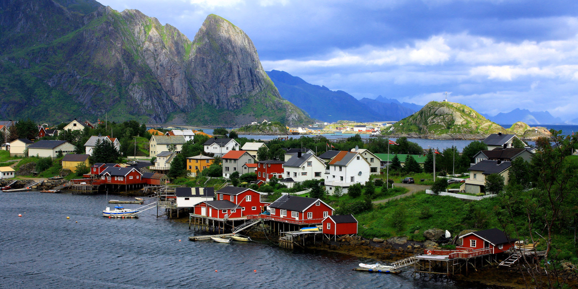 Quaint fishing village reine will make you want to run off Best villages in america