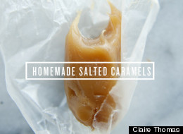 A Kitchy Kitchen Recipe: Salted Caramels