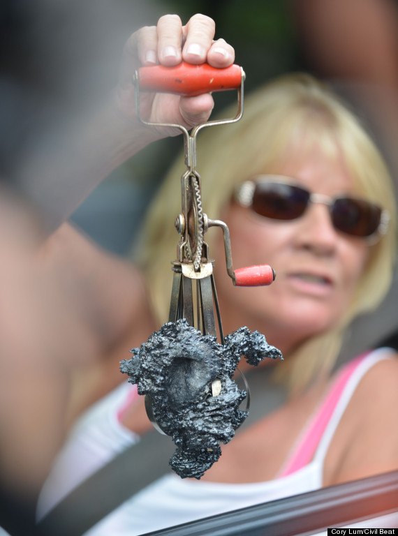 ruth crawford lava mixer