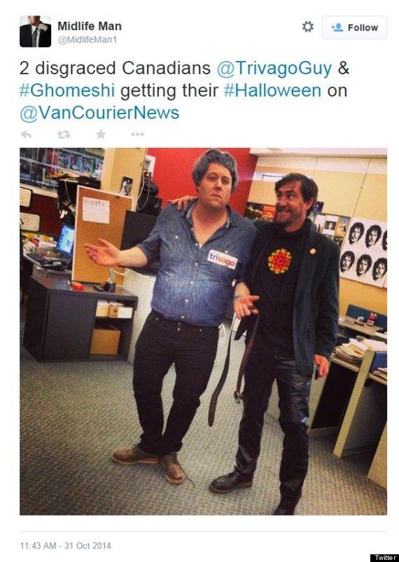 ghomeshi costume