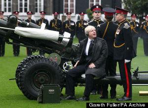 Boris Johnson Armed Forces