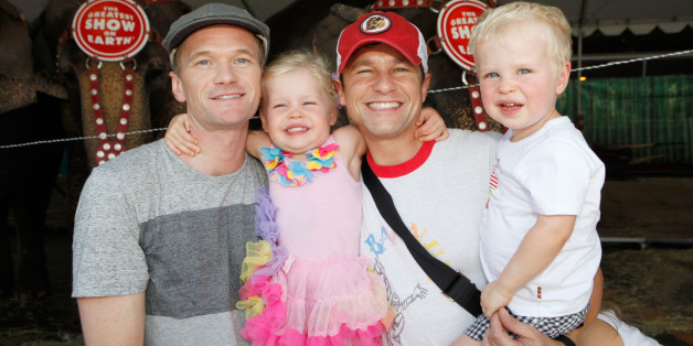 Neil Patrick Harris And Family Dress As Batman Characters ...