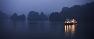 Riverboat Light Night