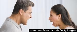 COUPLE WOMAN CRYING
